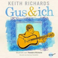 """Cover von Keith Richards Kinderbuch """"Gus und ich"""""""